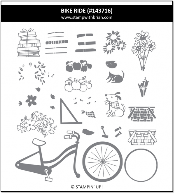 Bike Ride, Stampin' Up, 143716