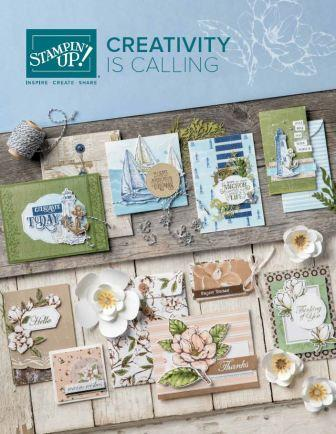 Stampin' Up! 2019 Annual Catalog cover, Stampin' Up!