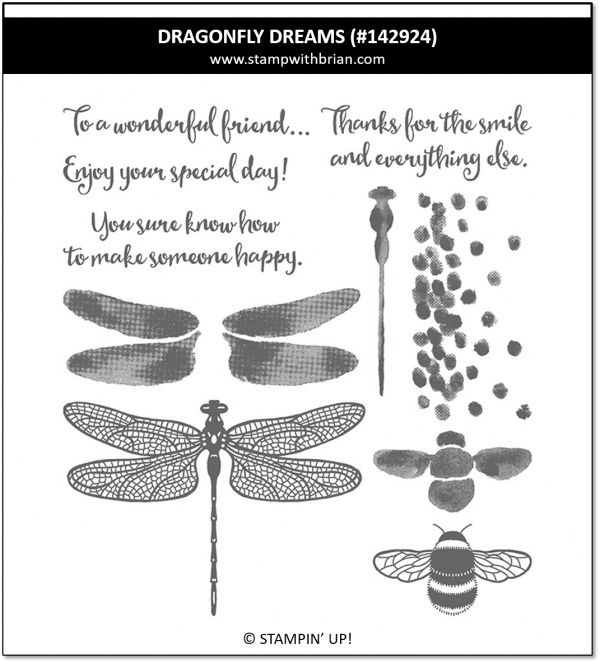 Dragonfly Dreams, Stampin' Up! 142924