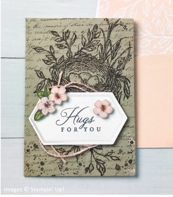 Hugs from Shelli Paper Pumpkin Kit - May 2019, Stampin' Up! OnStage Sample
