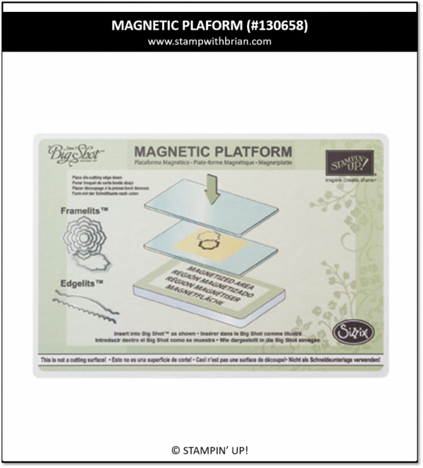 Magnetic Platform, Stampin' Up! 130658