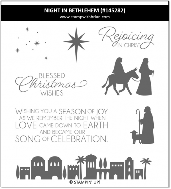 Night in Bethlehem, Stampin' Up! 145282