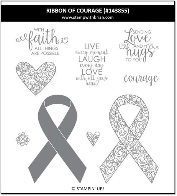RIbbon of Courage, Stampin' Up!, 143855