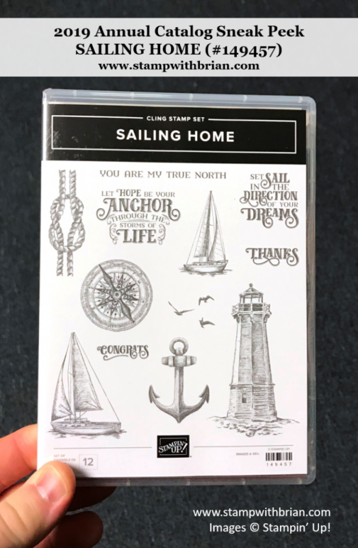 Sailing Home, Stampin' Up! 149457