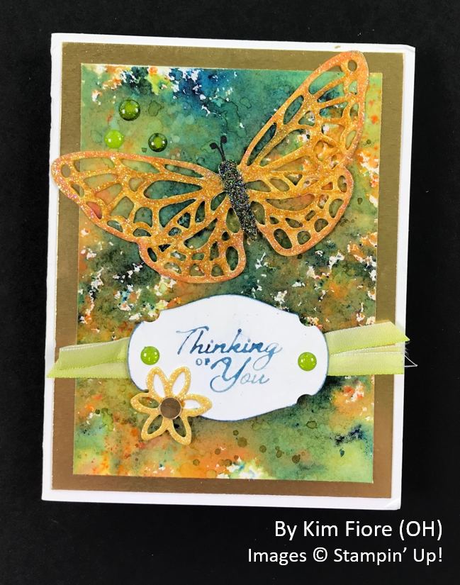 Spring One-for-One Card Swap, Stampin' Up!, by Kim Fiore