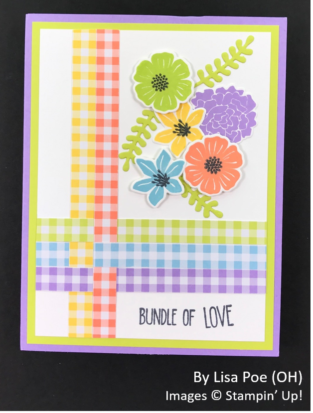 Spring One-for-One Card Swap, Stampin' Up!, by Lisa Poe