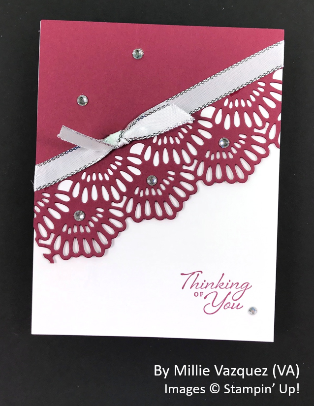 Spring One-for-One Card Swap, Stampin' Up!, by Millie Vazquez