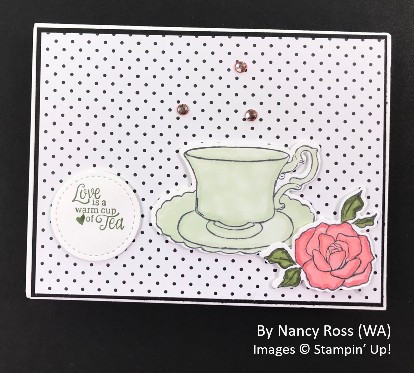 Spring One-for-One Card Swap, Stampin' Up!, by Nancy Ross