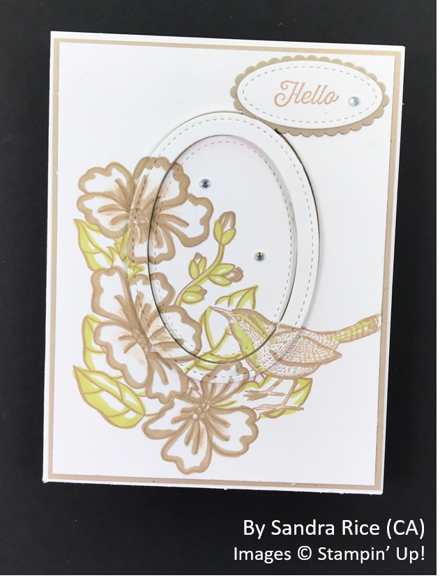 Spring One-for-One Card Swap, Stampin' Up!, by Sandra Rice