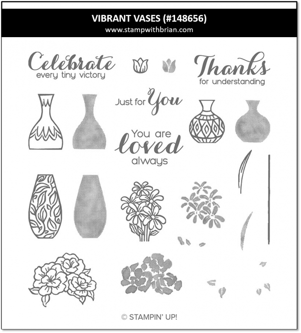 Vibrant Vases, Stampin' Up!, 148656