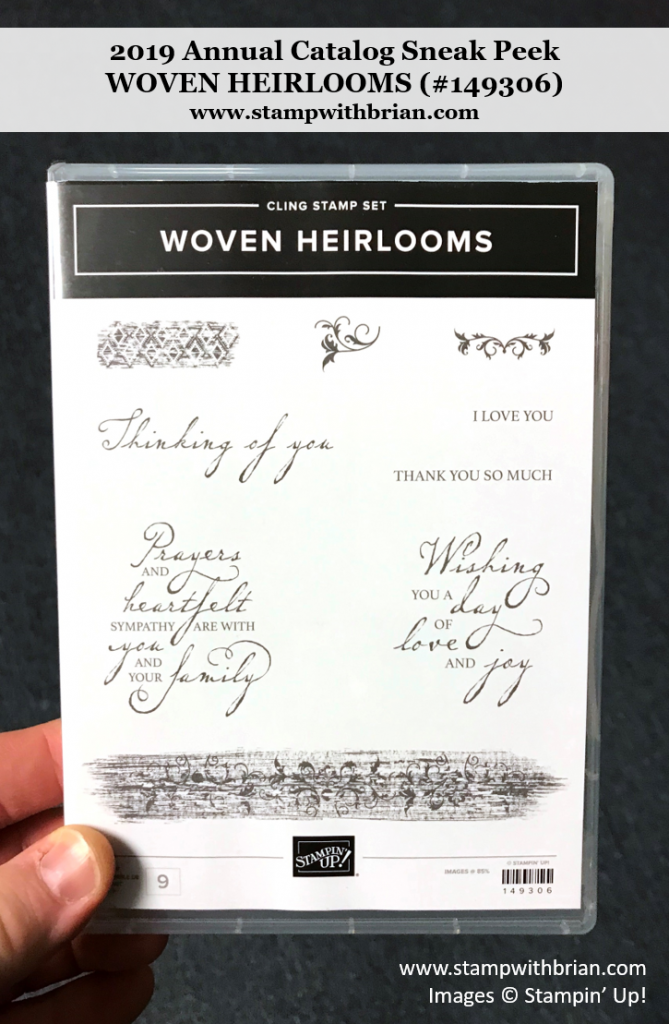 Woven Heirlooms, Stampin' Up! 149306