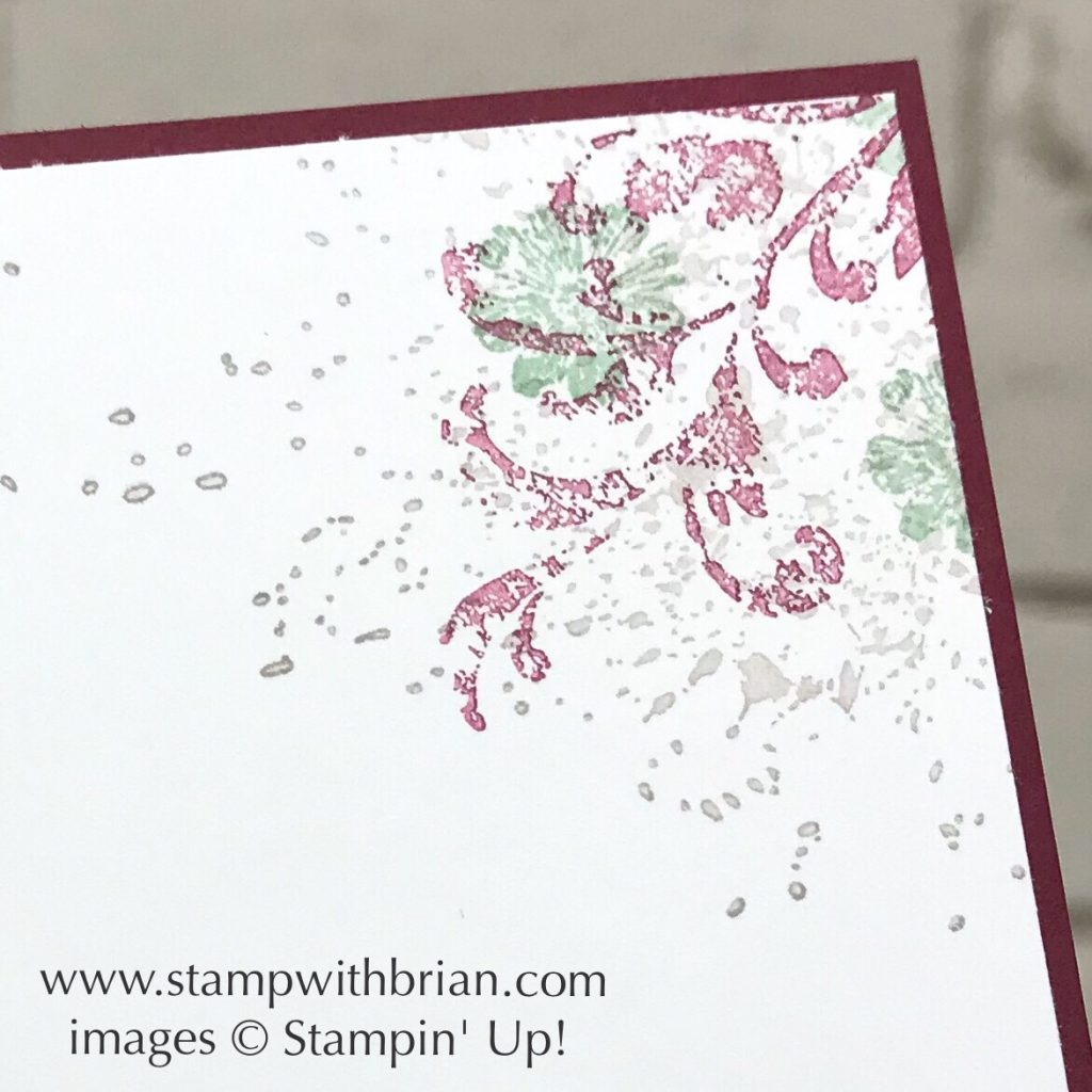 Woven Threads, Touches of Texture, TImeless Textures, Stampin' Up!, Brian King, sympathy card