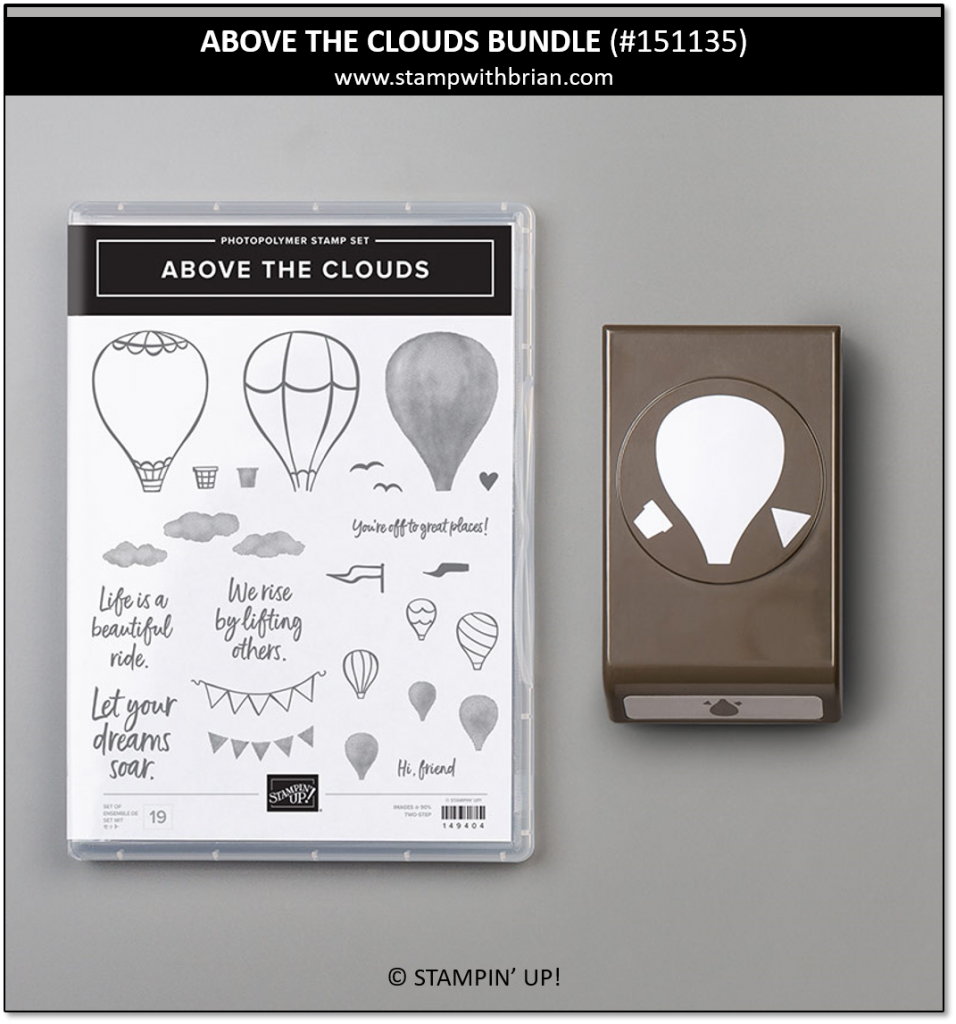 Above the Clouds Bundle, Stampin' Up! 151135