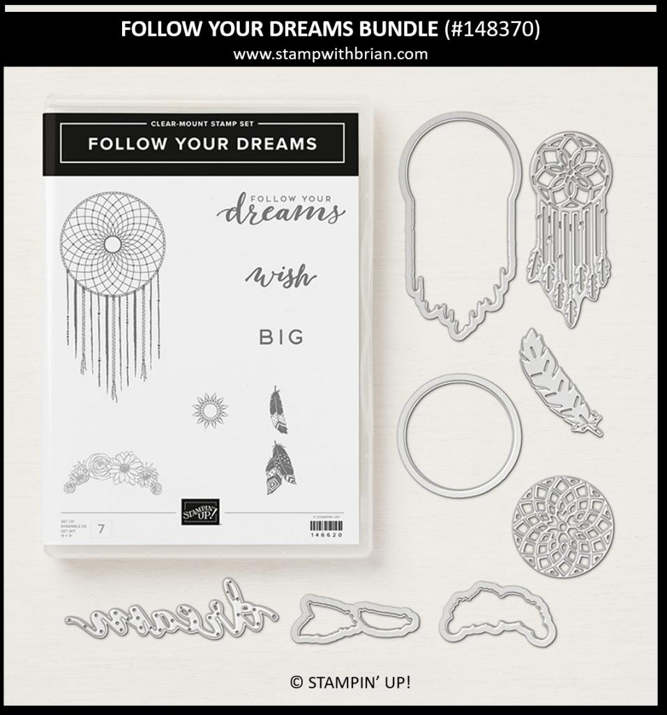 Follow Your Dreams Bundle, Stampin' Up! 148370
