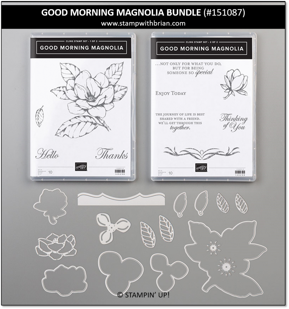 Good Morning Magnolia Bundle, Stampin' Up! 151087