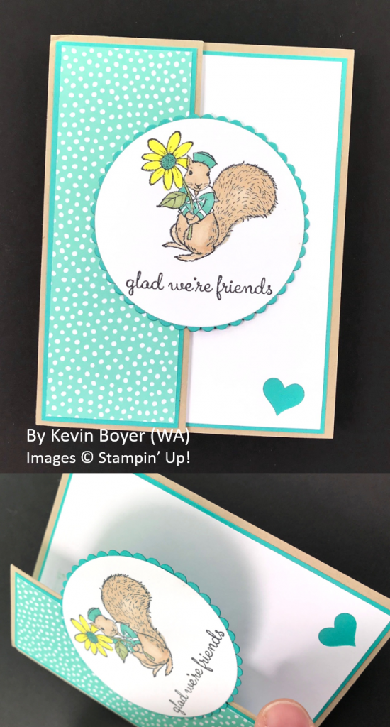 Spring One-for-One Card Swap, Stampin' Up!, by Kevin Boyer