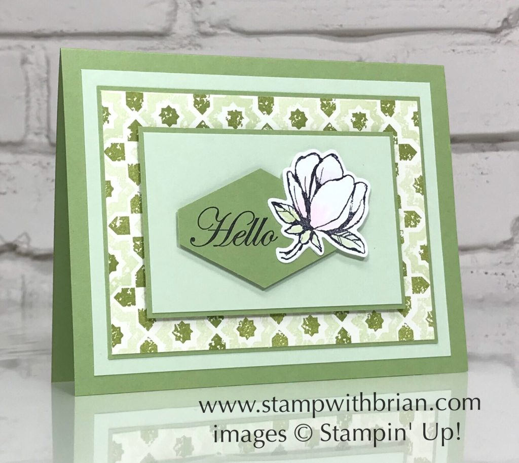 Verdant Garden, Good Morning Magnolia, Stampin' Up!, Brian King