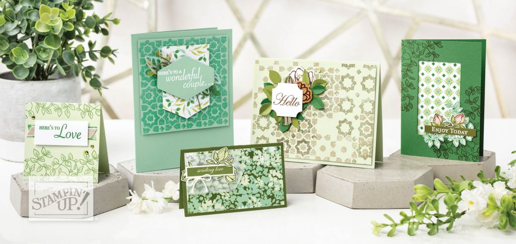 Verdant Garden Suite, Stampin' Up!