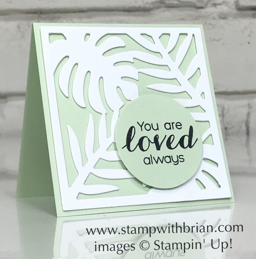 Vibrant Vases, Tropical Thinlits, Stampin' Up!, Brian King