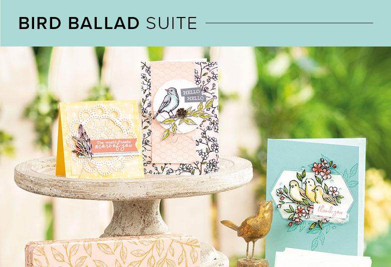 Bird Ballad Suite, 101007, Stampin' Up! 2019 Annual Catalog