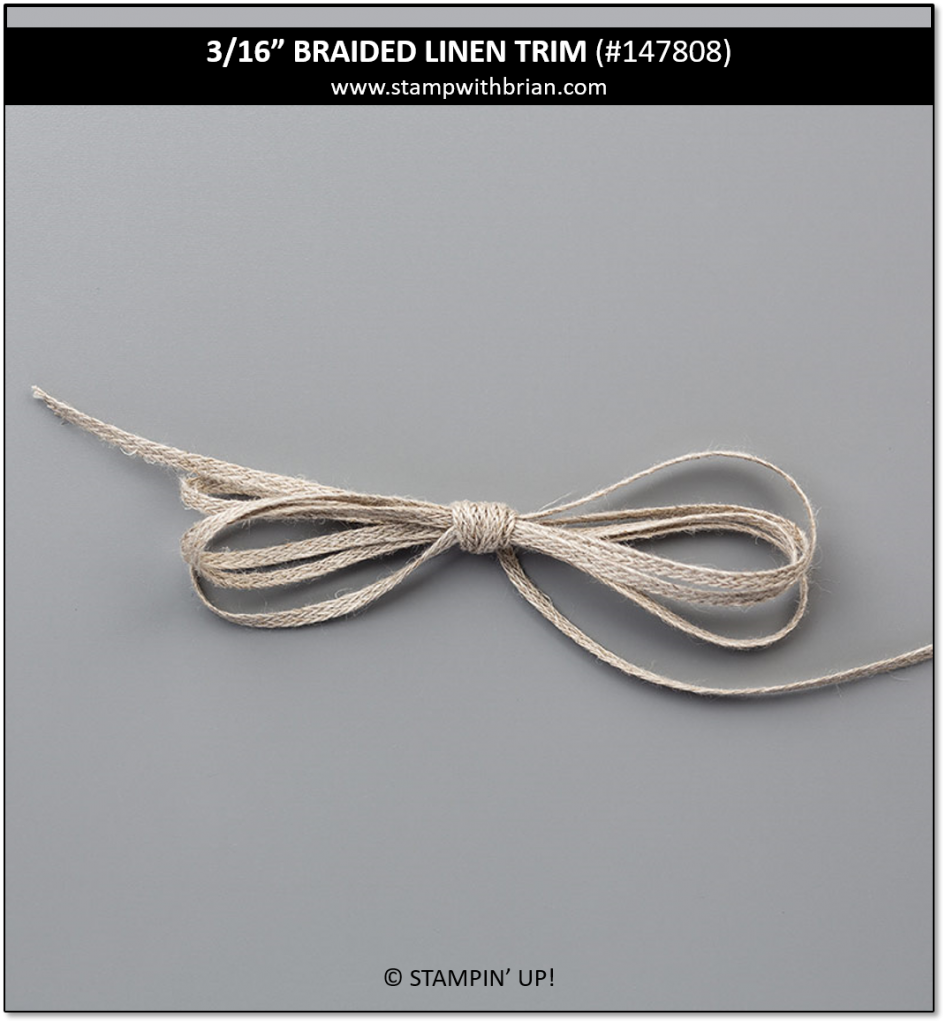 Braided Linen Trim, Stampin' Up!, 147808