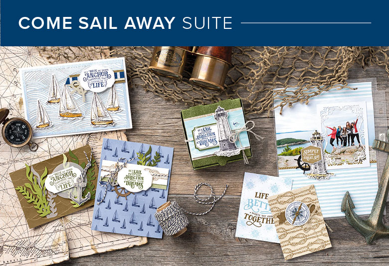 Come Sail Away Suite, 101012, Stampin' Up! 2019 Annual Catalog