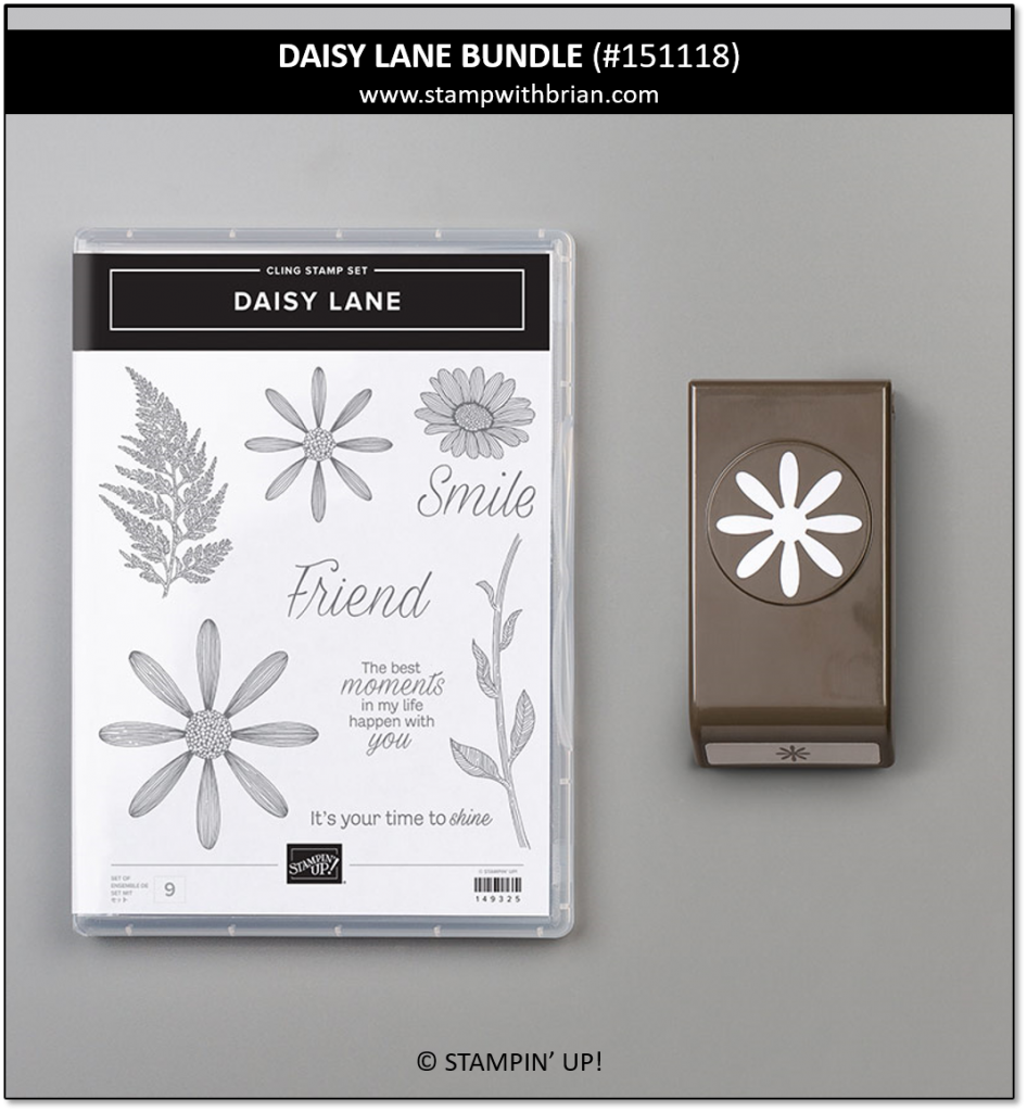 Daisy Lane Bundle, Stampin' Up! 151118