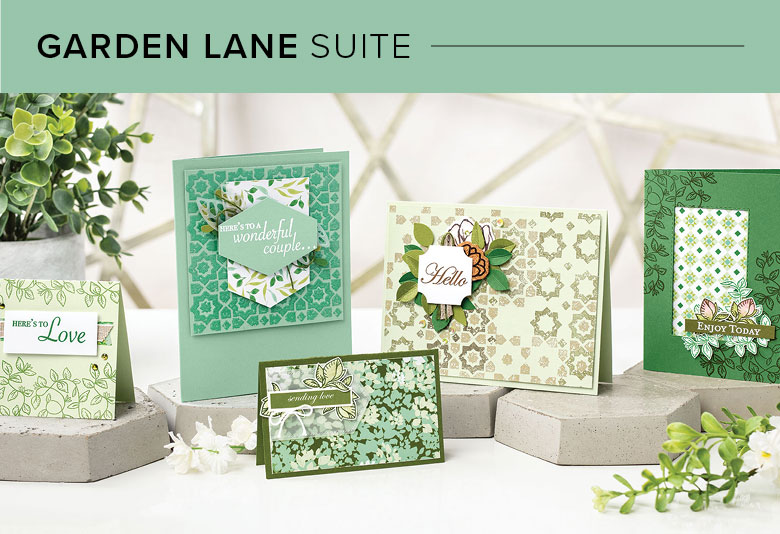 Garden Lane Suite, 101004, Stampin' Up! 2019 Annual Catalog
