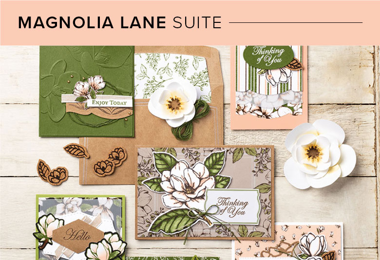 Magnolia Lane, 101003, Stampin' Up! 2019 Annual Catalog