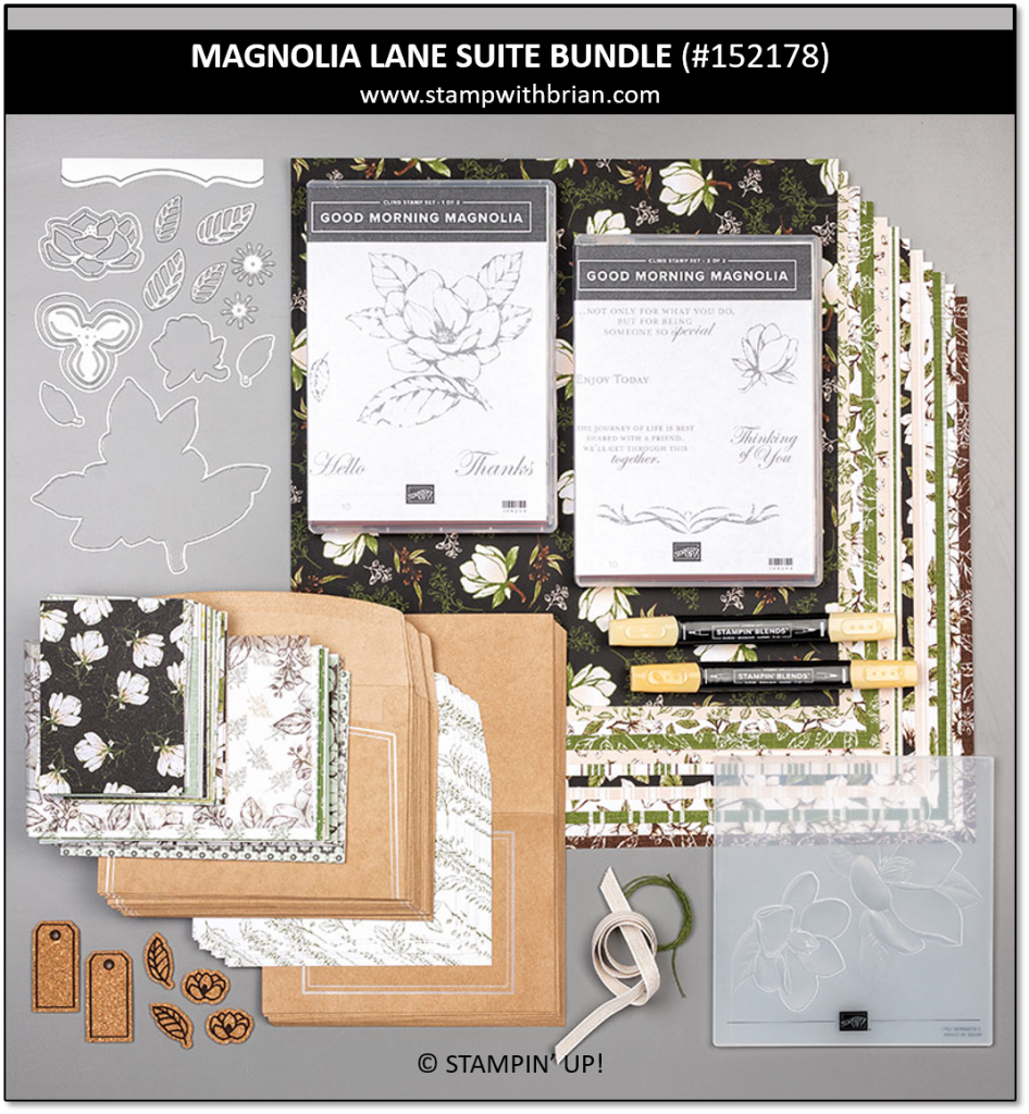 Magnolia Lane Suite Bundle, Stampin' Up! 152178