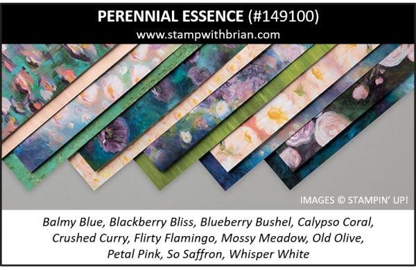 Perennial Essence Designer Series Paper, Stampin' Up! 2019 Annual Catalog, 149100