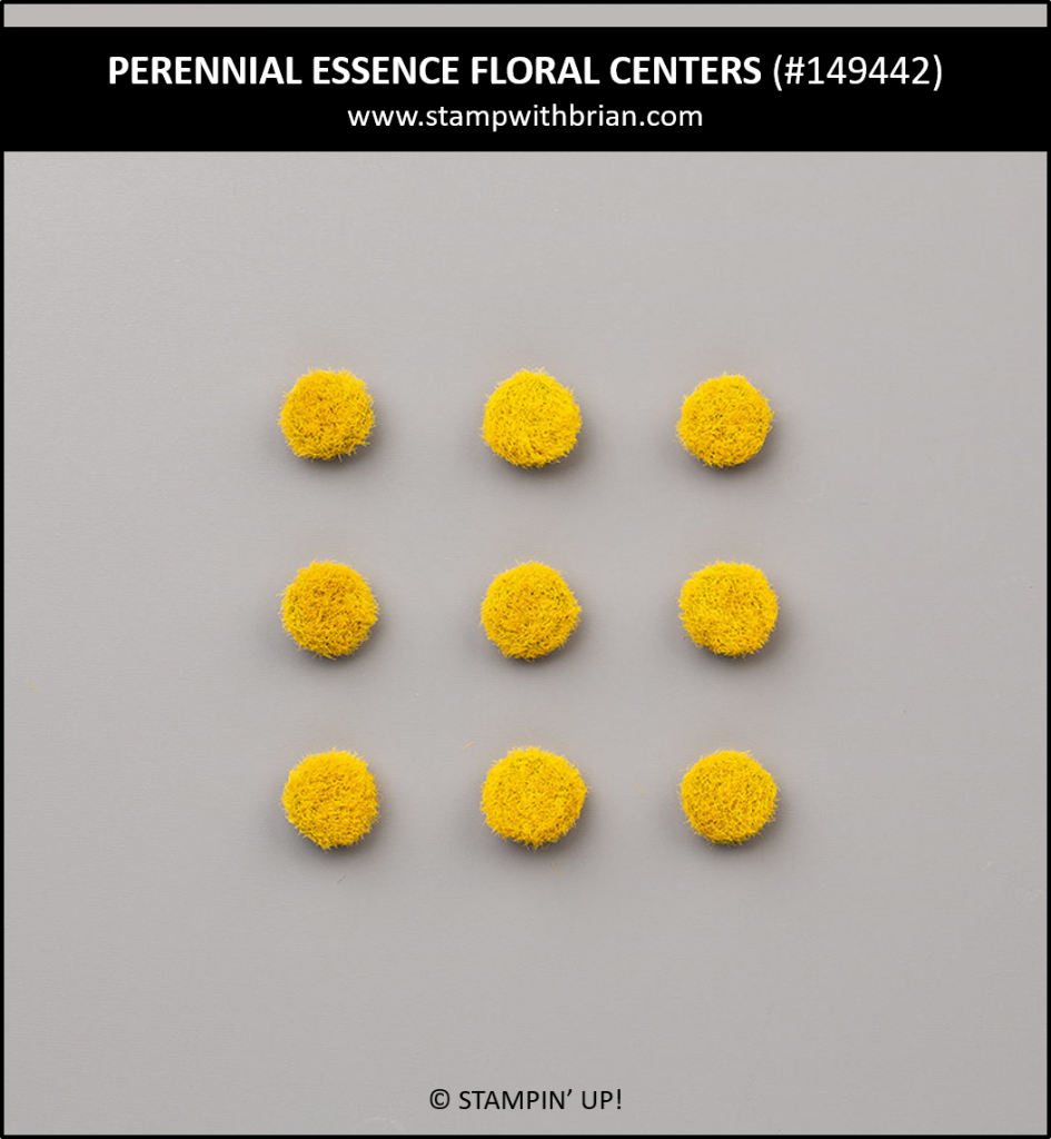 Perennial Essence Floral Centers, Stampin' Up! 149442