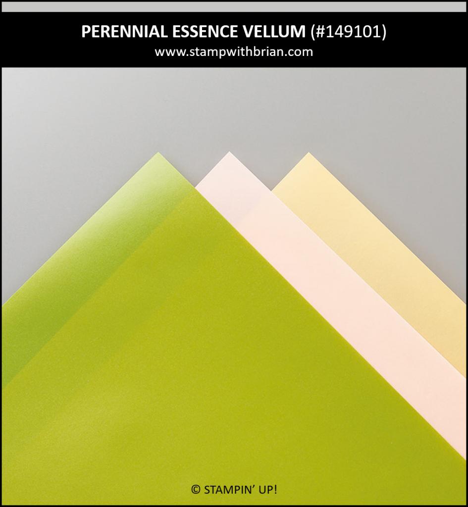 Perennial Essence Vellum Cardstock, Stampin' Up! 149101
