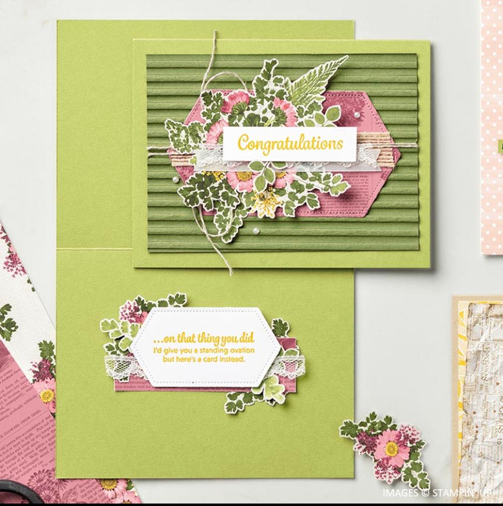 Pressed Petals Specialty Designer Series Paper, Stampin' Up!