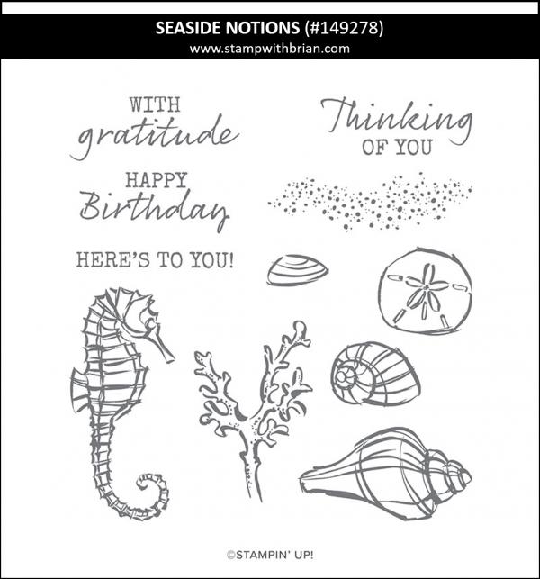 Seaside Notions, Stampin' Up! 149278