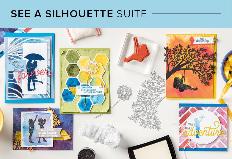 See a Silhouette Suite, 101011, Stampin' Up! 2019 Annual Catalog