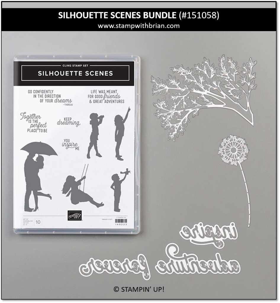 Silhouette Scenes Bundle, Stampin' Up! 151058
