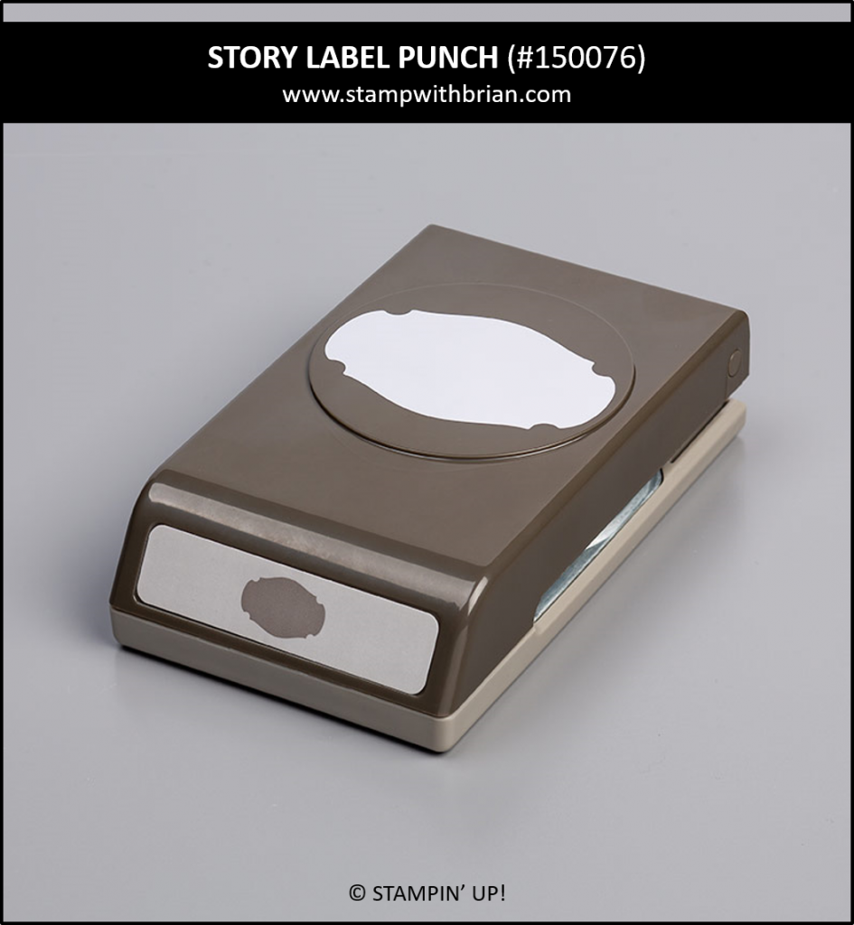 Story Label Punch, Stampin' Up!, 150076