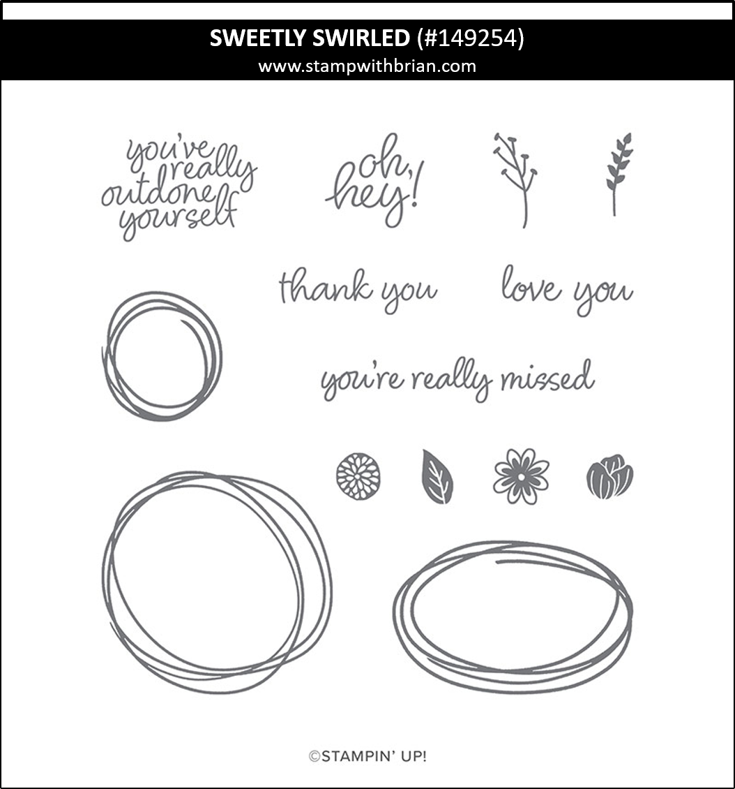 Sweetly Swirled, Stampin' Up! 149254