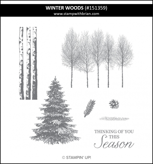 Winter Woods, Stampin' Up! 151359