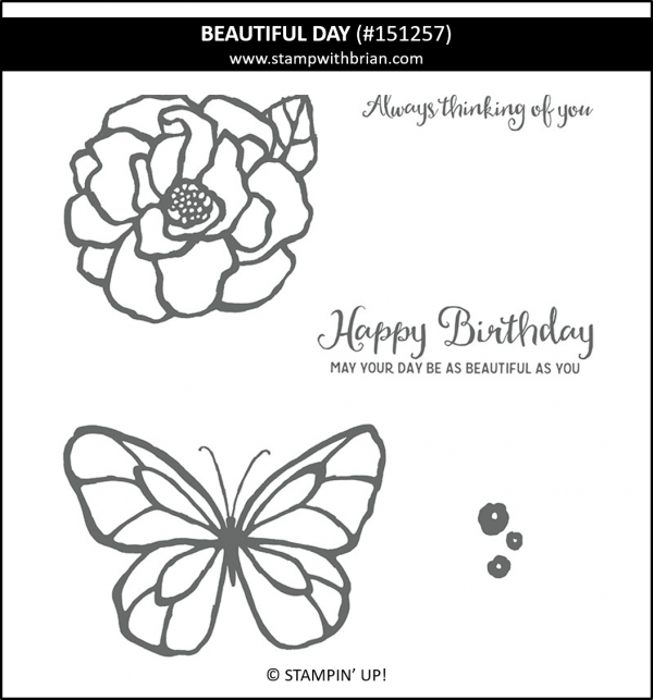 Beautiful Day, Stampin' Up!, 151257