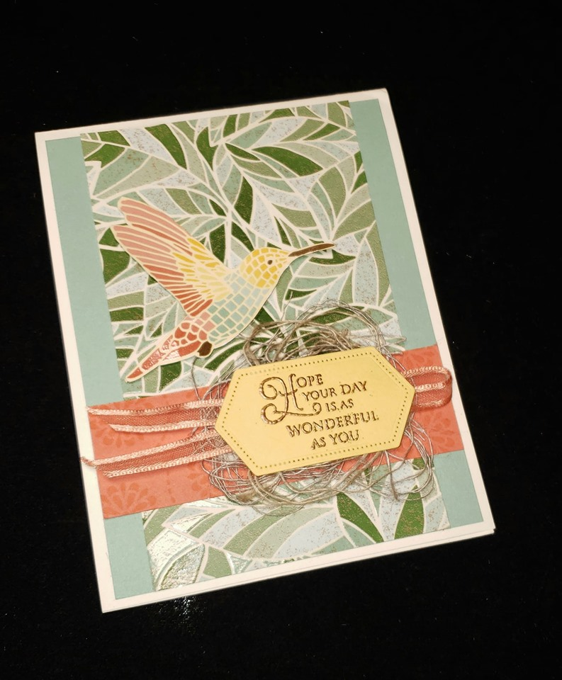 by Carole Gaines, Mosaic Mood, Stampin' Up!, CASE the 2019 Annual Catalog