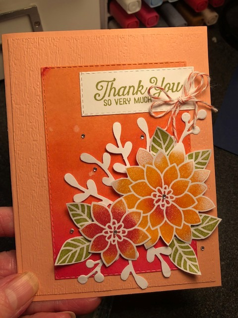 by Cathy Shockley, Flourishing Phrases, Stampin' Up!, CASE the 2019 Annual Catalog