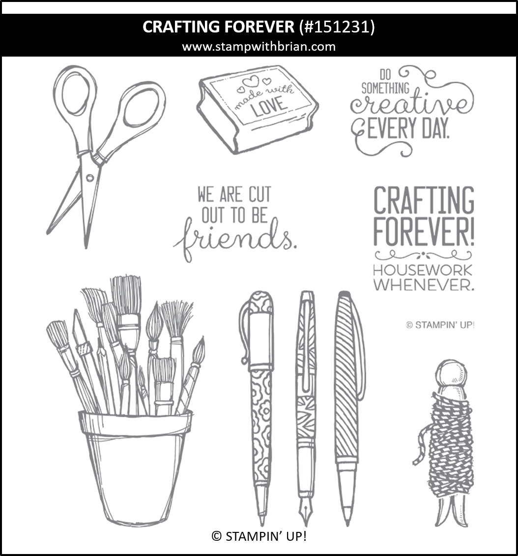 Crafting Forever, Stampin' Up! 151231