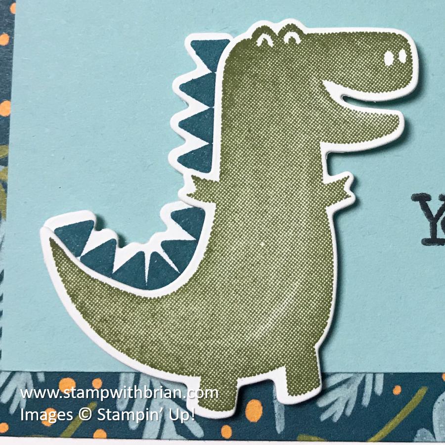 Dino Days Bundle, Dinoroar Designer Series Paper, Stampin' Up!, Brian King