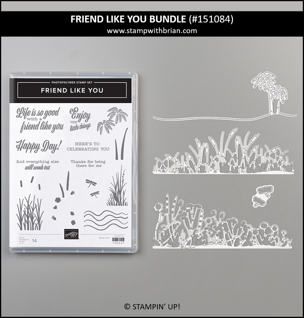 Friend Like You Bundle, Stampin' Up! 151084