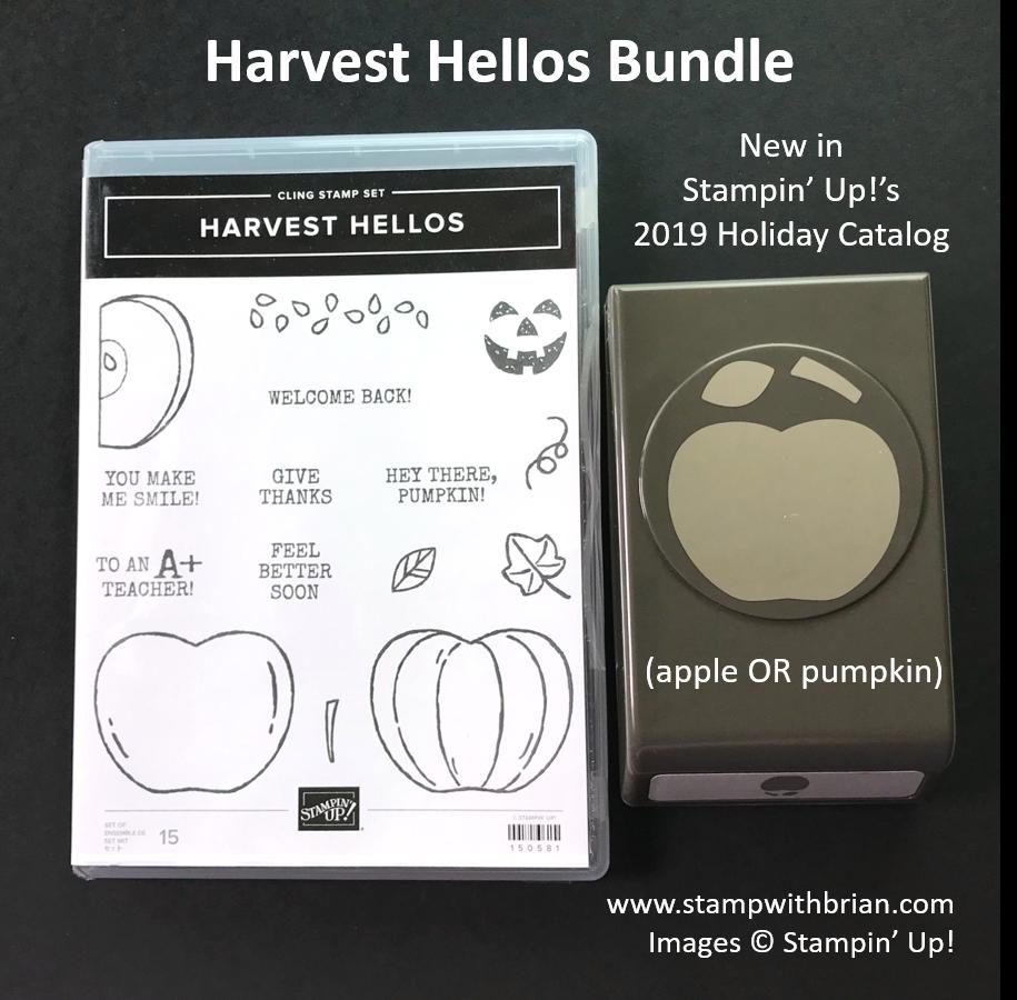 Harvest Hellos Bundle, Stampin' Up!