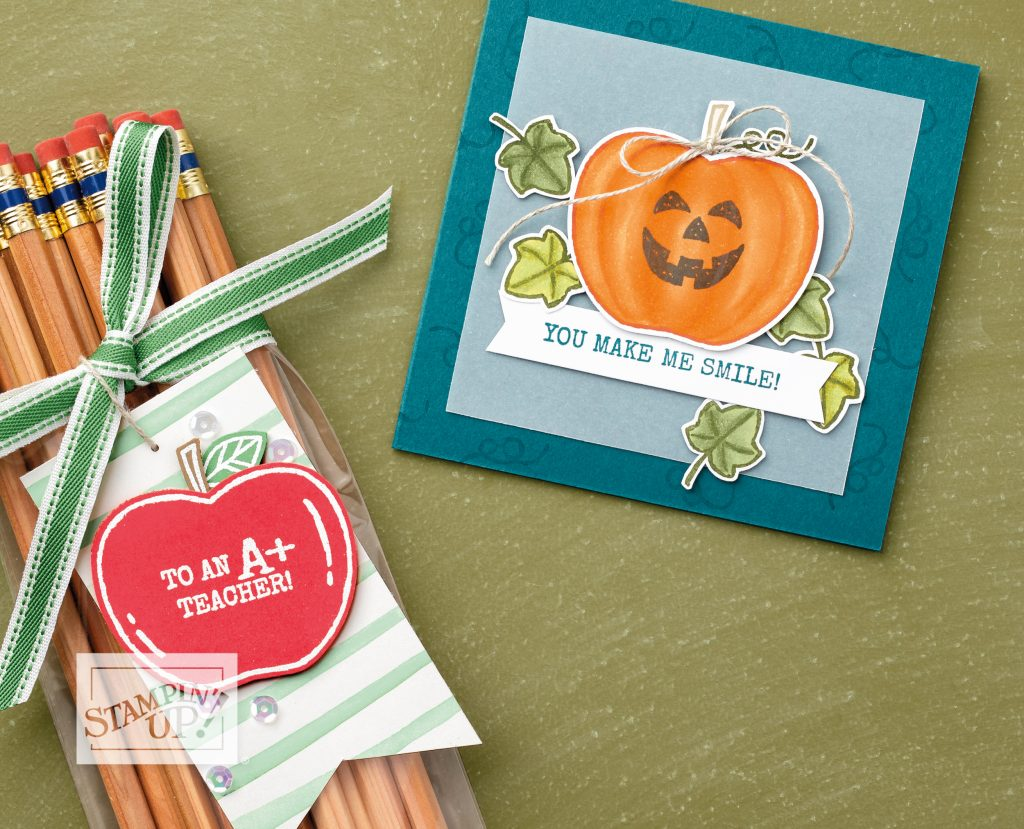 Harvest Hellos, Stampin' Up! Samples