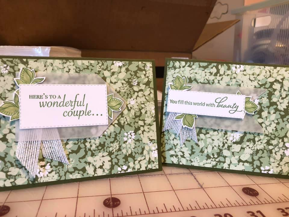 by Lee Ann Stremke, Verdant Garden, Stampin' Up!, CASE the 2019 Annual Catalog