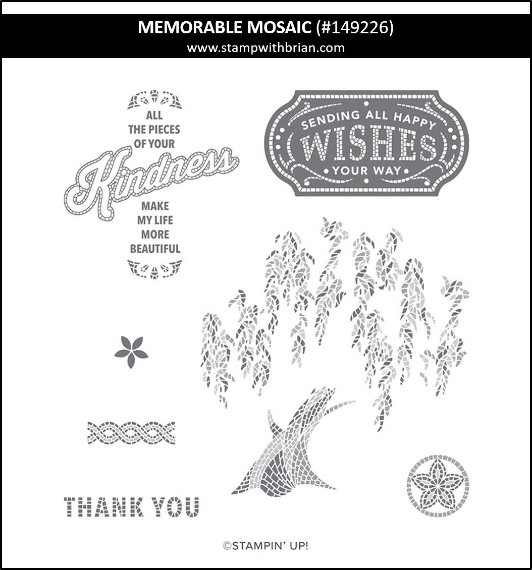 Memorable Mosaic, Stampin' Up! 149226